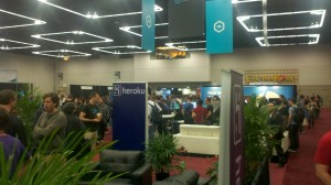 RailsConf Exhibit Hall